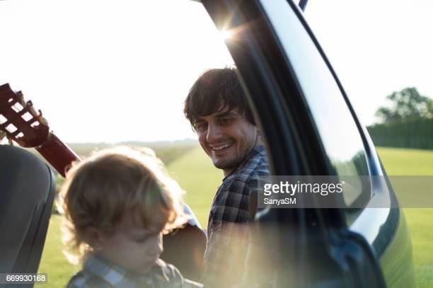 Voyage sur la route avec mon père