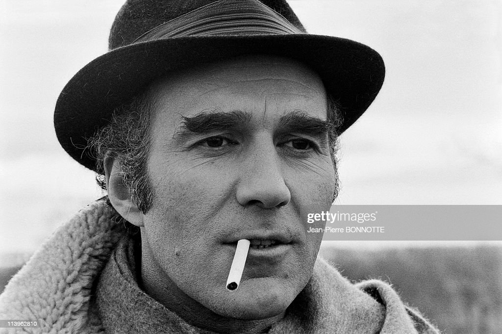 On the Set of the Movie Belle de Jour In France in December 1966-French actor <a gi-track='captionPersonalityLinkClicked' href=/galleries/search?phrase=Michel+Piccoli&family=editorial&specificpeople=228573 ng-click='$event.stopPropagation()'>Michel Piccoli</a> on the set of the movie 'Belle de Jour' , directed by <a gi-track='captionPersonalityLinkClicked' href=/galleries/search?phrase=Luis+Bunuel&family=editorial&specificpeople=893453 ng-click='$event.stopPropagation()'>Luis Bunuel</a>.