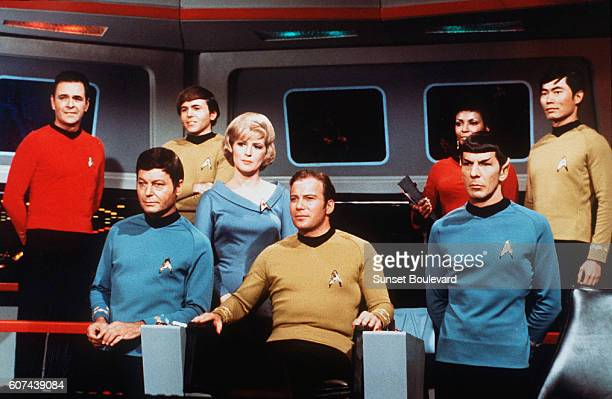 On the set of the TV series Star Trek