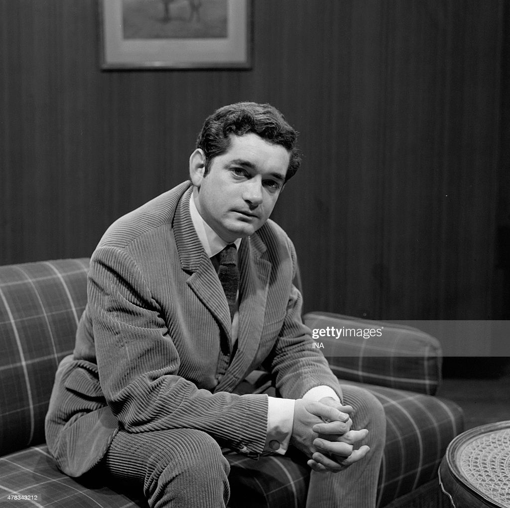 On the set of tv news, the filmmaker <a gi-track='captionPersonalityLinkClicked' href=/galleries/search?phrase=Jacques+Demy&family=editorial&specificpeople=896284 ng-click='$event.stopPropagation()'>Jacques Demy</a> interviewed on the sketch '' Lust '' he directed in the movie '' The Seven Deadly Sins ''