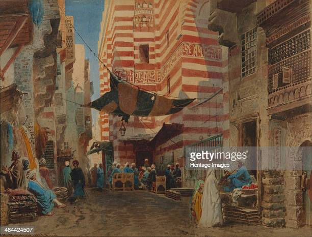 On the Street of Cairo 1873 Found in the collection of the Regional I Kramskoi Art Museum Voronezh