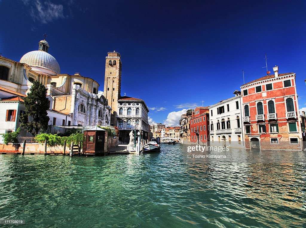 On the Water - Venice : Stock Photo