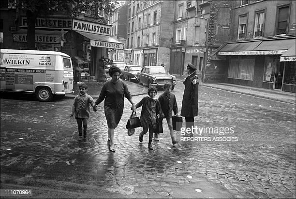 On the way to school in Paris France on September 16 1967