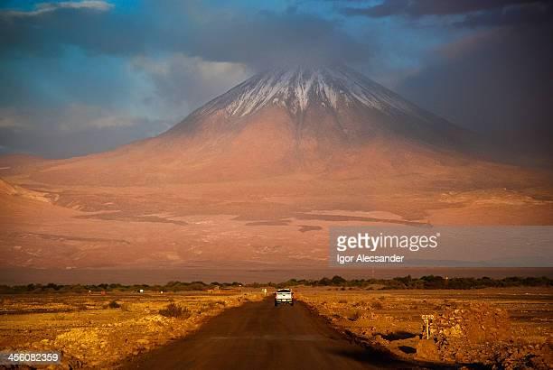 On the way to volcano Licancabur