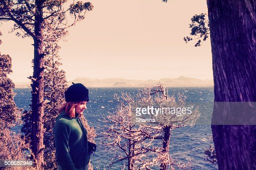 On the Woods : Stock Photo