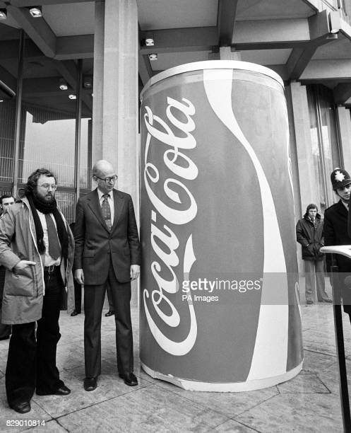 On this day in 1886 Dr John Stith Pemberton invented what would go on to be called 'CocaCola' Giant CocaCola can left outside the American Embassy in...