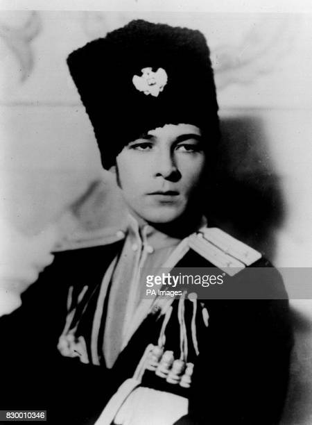 On this day in 1926 Rudolph Valentino died of septicemia aged 31 RUDOLPH VALENTINO