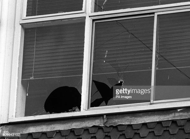 On this day in 1987 Michael Ryan indiscriminately shot dead 16 people in an attack in Hungerford A broken window on the third floor of the John 'O...