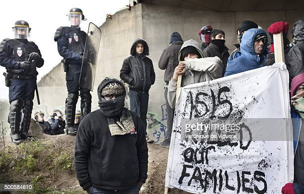 On Thursday December 3 Youssef from Sudan tried to depart the refugee camp in Calais France dubbed 'the jungle' to attempt to enter the UK He was...