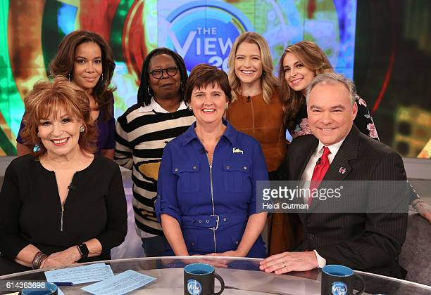 THE VIEW On THURSDAY OCTOBER 13 the Political View welcomes Senator Tim Kaine in his first appearance on the ABC talk show The democratic vice...