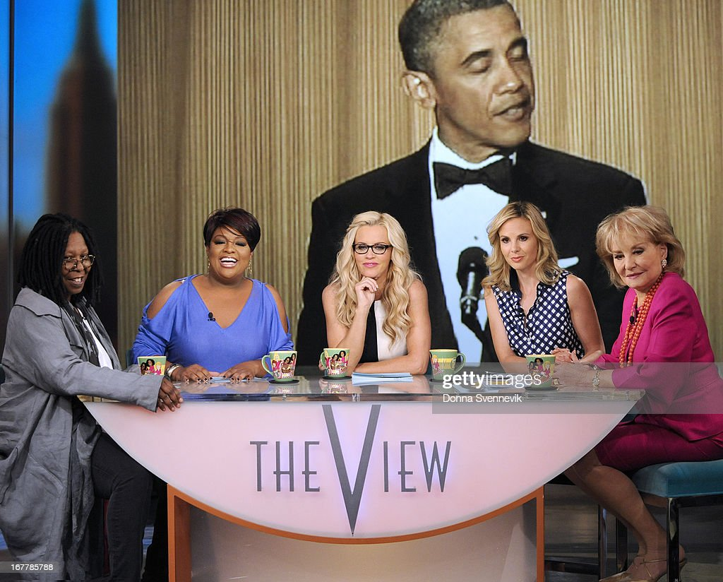 "THE VIEW - (4.29.13) On today's show, guest co-host Jenny McCarthy joins the ladies; ""Whoopi's Shoe View"" begins with a peek at her one-of-a-kind shoe collection; Rebel Wilson (""Pain & Gain"") appears; Sherri Shepherd shares her guide to losing weight and beating diabetes with her new book, Plan D; and musical guest Fantasia performs. 'The View' airs Monday-Friday (11:00 am-12:00 pm, ET) on the ABC Television Network. WALTERS"