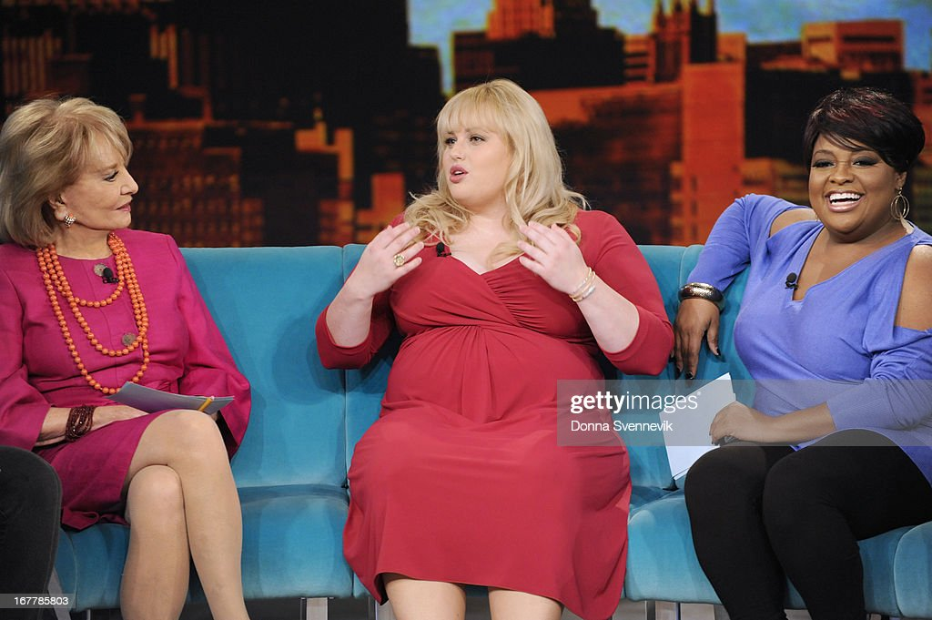 """THE VIEW - (4.29.13) On today's show, guest co-host Jenny McCarthy joins the ladies; """"Whoopi's Shoe View"""" begins with a peek at her one-of-a-kind shoe collection; Rebel Wilson (""""Pain & Gain"""") appears; Sherri Shepherd shares her guide to losing weight and beating diabetes with her new book, Plan D; and musical guest Fantasia performs. 'The View' airs Monday-Friday (11:00 am-12:00 pm, ET) on the ABC Television Network. SHEPHERD"""