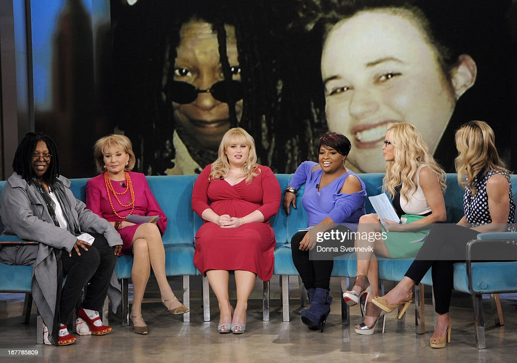 "THE VIEW - (4.29.13) On today's show, guest co-host Jenny McCarthy joins the ladies; ""Whoopi's Shoe View"" begins with a peek at her one-of-a-kind shoe collection; Rebel Wilson (""Pain & Gain"") appears; Sherri Shepherd shares her guide to losing weight and beating diabetes with her new book, Plan D; and musical guest Fantasia performs. 'The View' airs Monday-Friday (11:00 am-12:00 pm, ET) on the ABC Television Network. HASSELBECK"