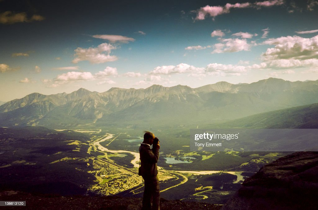 On top of world : Stock Photo