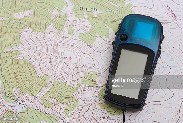 GPS on Topo Map