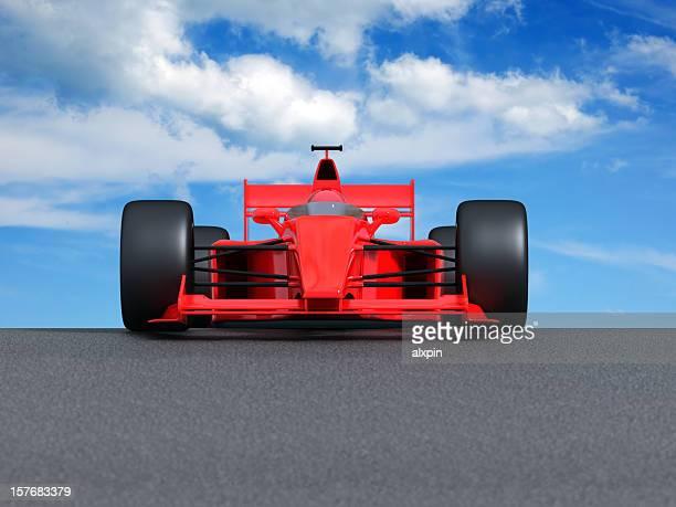 F1 auf track
