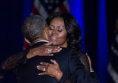 tuesday us president barack obama hugs