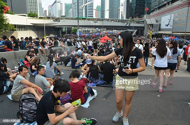 On Wednesday 1st October 2014 during a public holiday to mark the 65th anniversary of the founding of the People's Republic of China protestors are...
