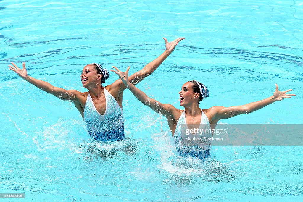 FINA Olympic Games Synchronised Swimming Qualification Tournament  - Aquece Rio Test Event for the Rio 2016 Olympics