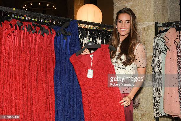 Ona Carbonell attends a Intropia charity rummage sale to help the Hospital Vall d'Hebron at Museu Maritim de Barcelona on December 5 2016 in...