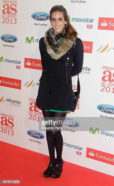 Ona Carbonell attends 'As del deporte' awards 2013 photocall at Palace hotel on December 19 2013 in Madrid Spain