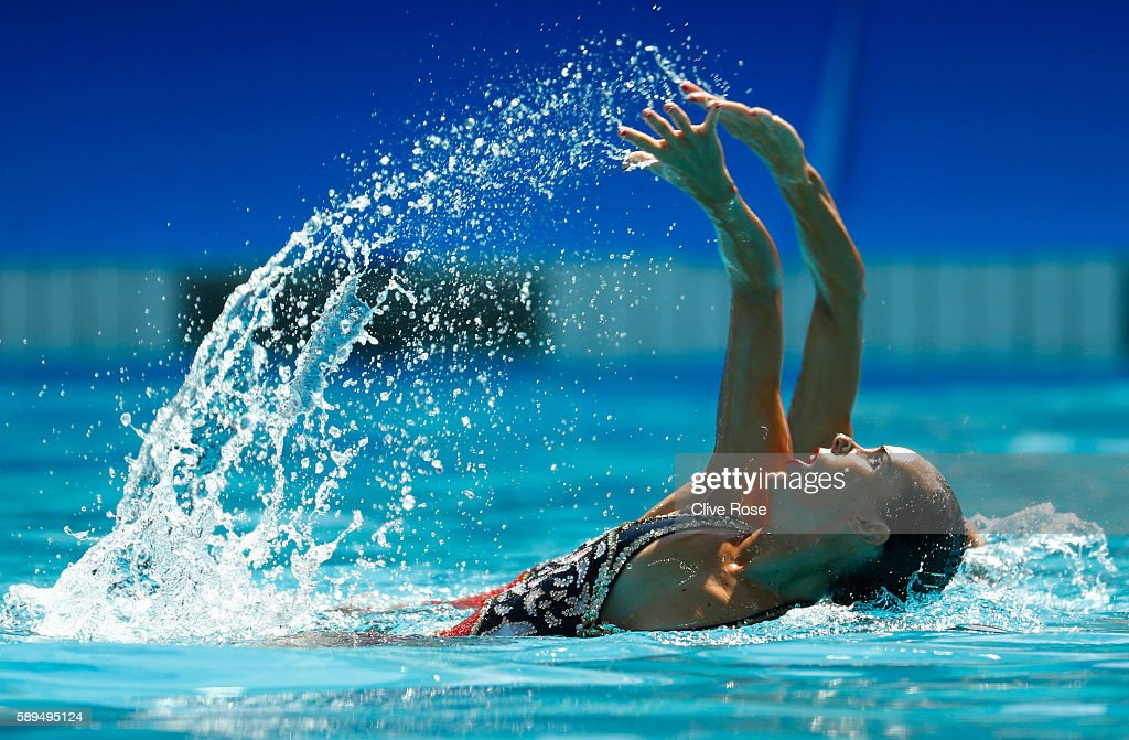 Synchronised Swimming - Olympics: Day 9