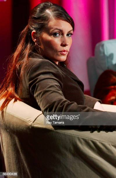 OnAir Personality Angie Martinez attends the 'Ultimate Hustler' Season Finale Taping at CBS Studios December 13 2005 in New York City