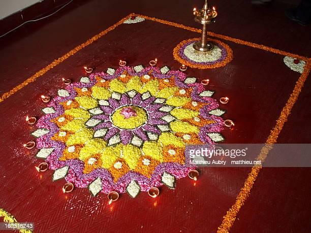 Onam festival & flowers