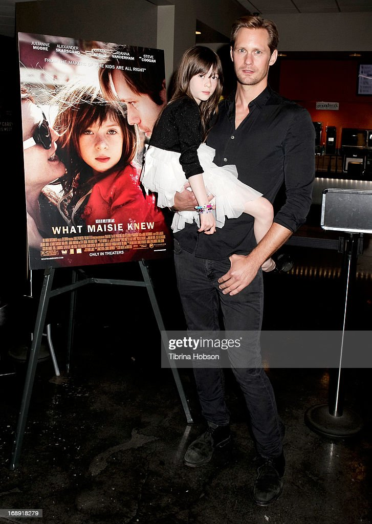 <a gi-track='captionPersonalityLinkClicked' href=/galleries/search?phrase=Onata+Aprile&family=editorial&specificpeople=8141731 ng-click='$event.stopPropagation()'>Onata Aprile</a> and Alexander Skarsgard attend the LA Times Indie Focus screening of 'What Masie Knew' at Laemmle Theater on May 16, 2013 in North Hollywood, California.