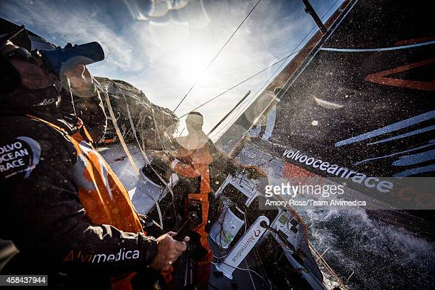 Onboard Team Alvimedica Day 25 The wind returns and so too does the hope of getting to Cape Town in front of MAPFRE and SCA chasing hard from the...