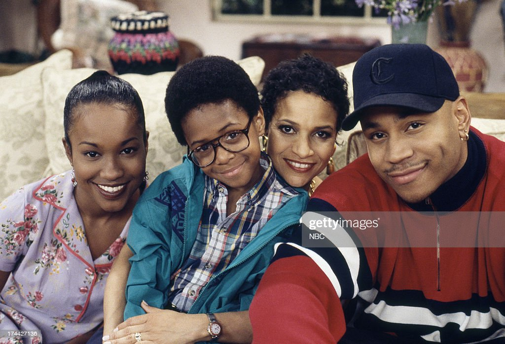 HOUSE -- 'Once Again, With Feeling' Episode 4 -- Pictured: (l-r) Maia Campbell as Tiffany Warren, Jeffery Wood as Austin Warren, <a gi-track='captionPersonalityLinkClicked' href=/galleries/search?phrase=Debbie+Allen&family=editorial&specificpeople=210660 ng-click='$event.stopPropagation()'>Debbie Allen</a> as Jackie Warren, L. L. Cool J as Marion Hill --