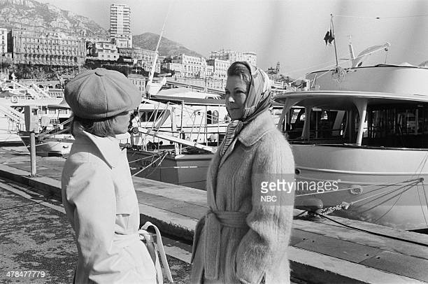 EVENT 'Once Upon a Time Is Now the Story of Princess Grace' Pictured Host Lee Grant Princess Grace Kelly of Monaco in Monte Carlo Monaco