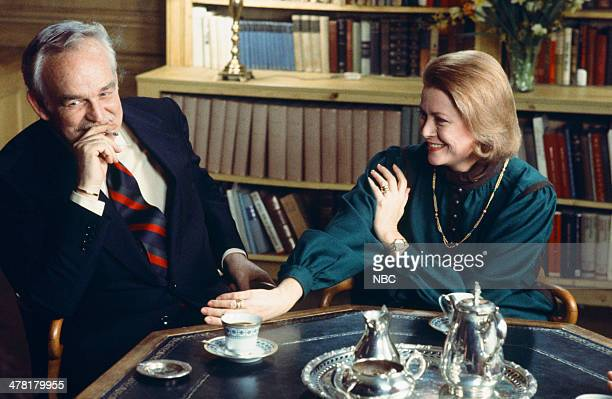 EVENT 'Once Upon a Time Is Now the Story of Princess Grace' Pictured Prince Rainier III of Monaco Princess Grace Kelly of Monaco in the Library of...
