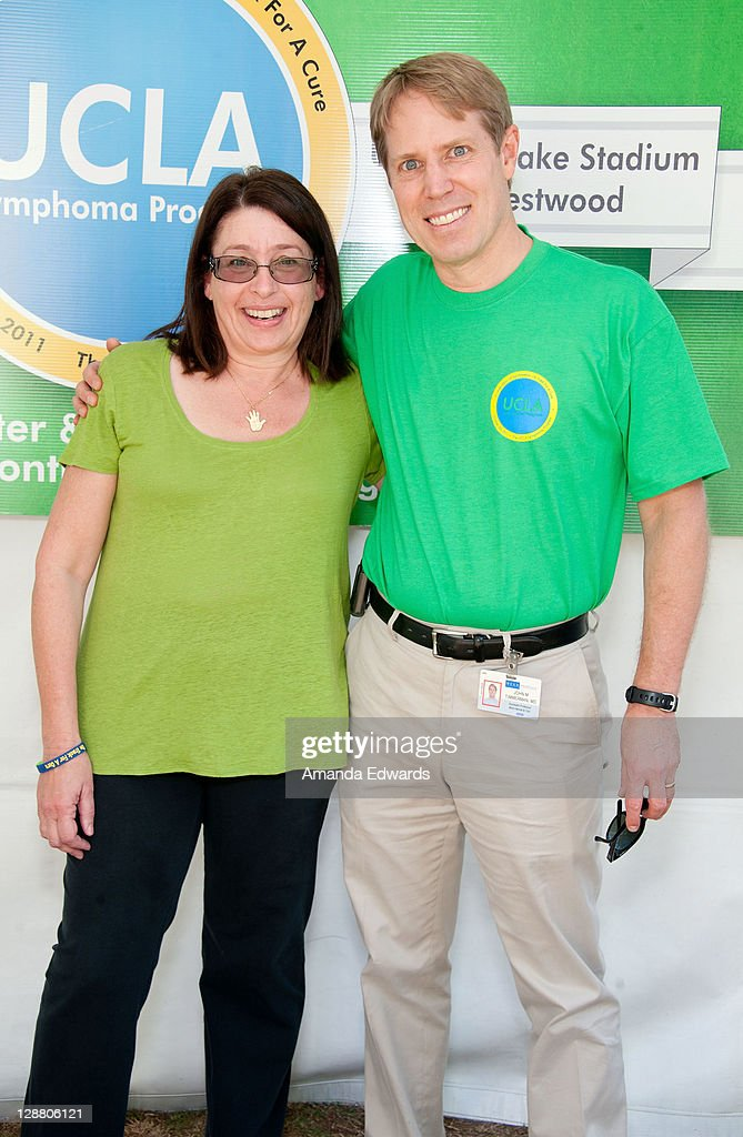Oncologist Dr Lauren PinterBrown and Dr John H Timmerman attend the UCLA Lymphoma Program's 'A Celebration of Survivorship On Track for a Cure' event...