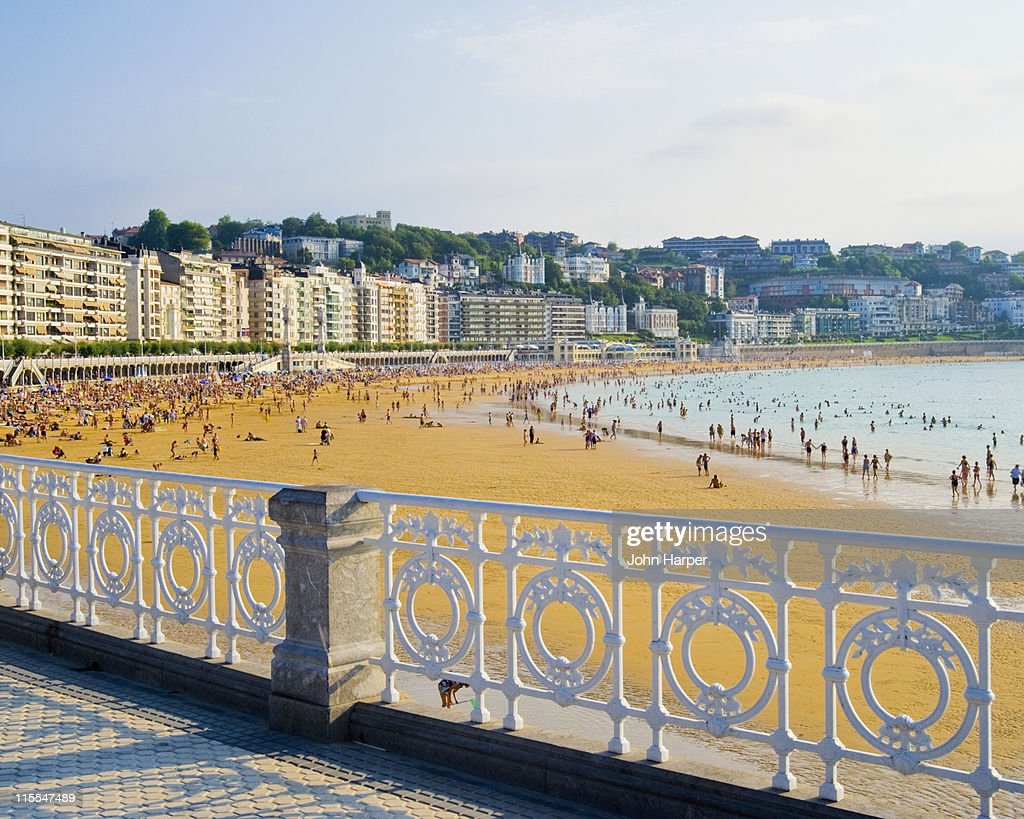 Ondarreta Beach, San Sebastian, Basque Country