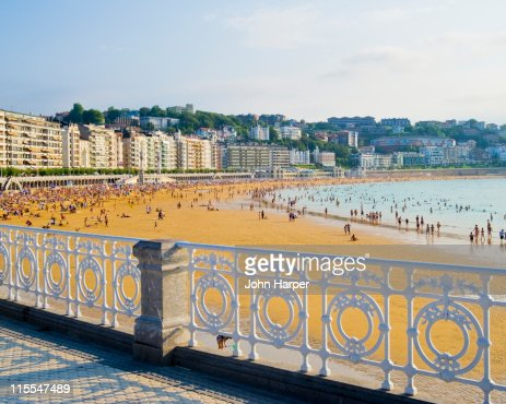 Ondarreta Beach, San Sebastian, Basque Country