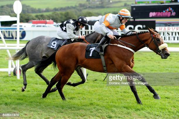 Ondeafears ridden by Shane Foley on their way to winning the Exchange Inn Ballybunion Kevin Brodericks Bar Listowel Handicap Race at Listowel...