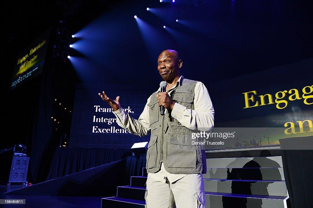 Ondra Berry during MGM Resorts International presentation of 'Inspiring Our World' on December 17, 2012 in Las Vegas, Nevada.