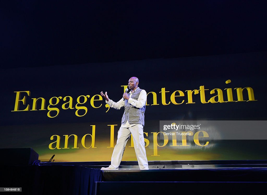 Ondra Berry during MGM Resorts International presentation of 'Inspiring Our World' on December 17, 2012 in Las Vegas, Nevada.