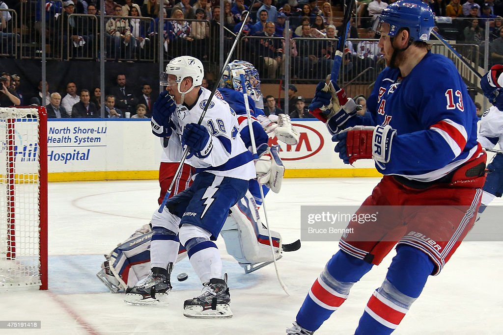 Tampa Bay Lightning V New York Rangers Game Seven Getty Images