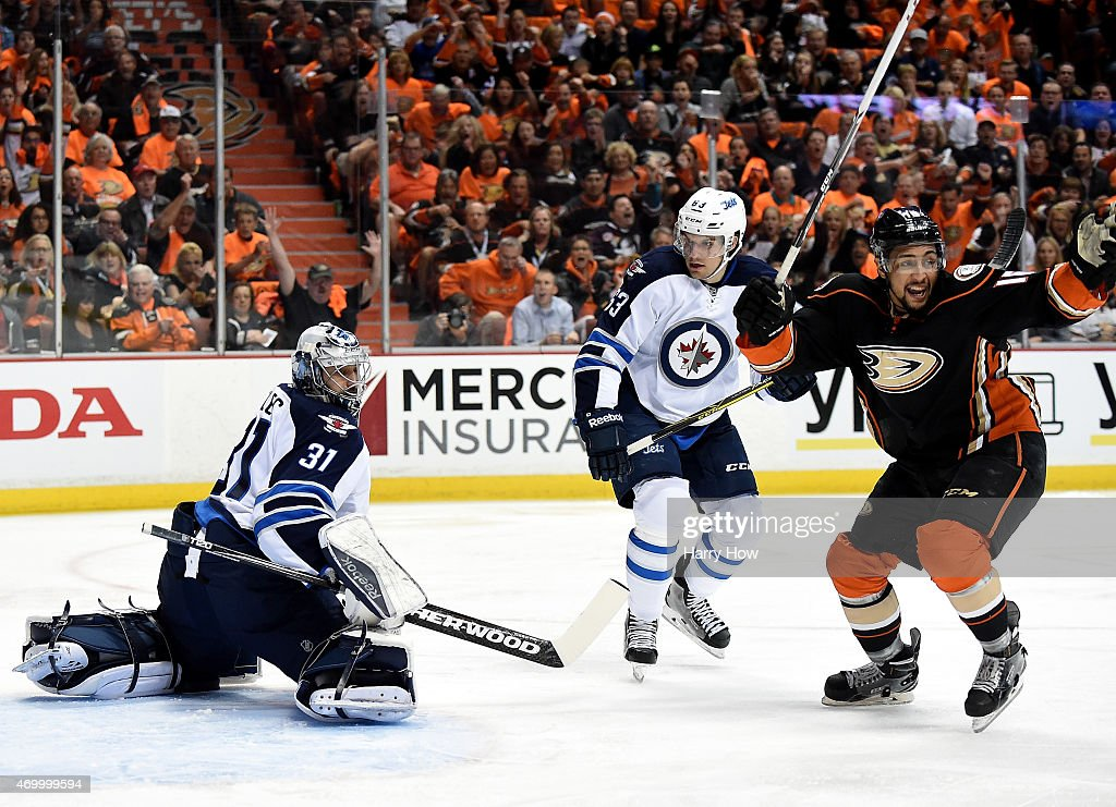 Winnipeg Jets v Anaheim Ducks - Game One