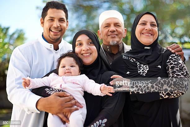 Heureux d'être en famille