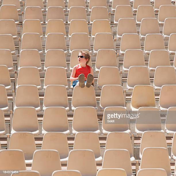 one boy audience