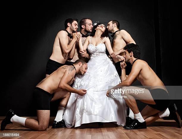 One bride Five grooms