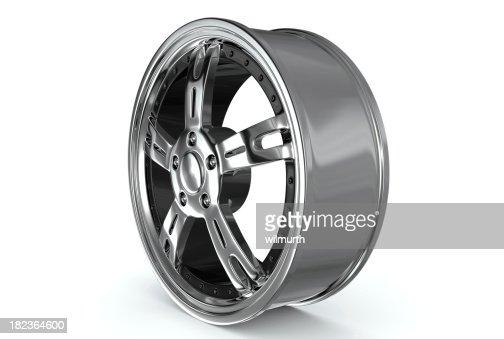 One car rim