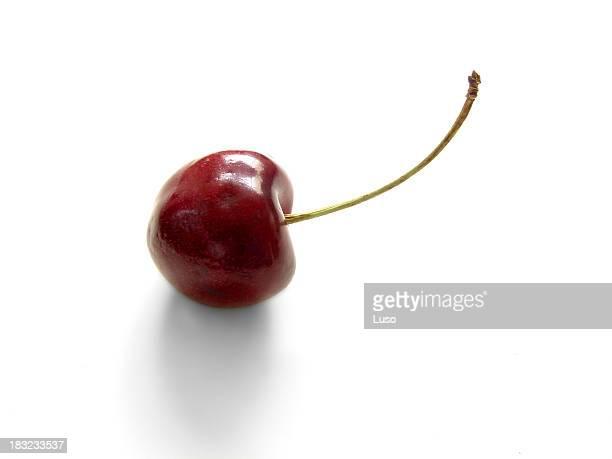 Eine Kirsche Obst