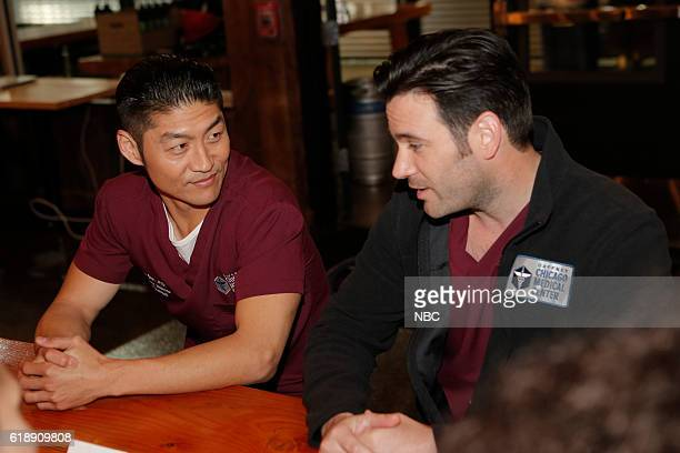 EVENTS 'One Chicago Day' Pictured Brian Tee Colin Donnell 'Chicago Med' at the 'One Chicago Day' event at Lagunitas Brewing Company in Chicago IL on...