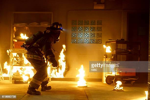 EVENTS 'One Chicago Day' Pictured Chicago Fire demonstration at the 'One Chicago Day' event on October 24 2016