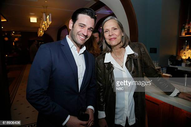 EVENTS 'One Chicago Day' Pictured Colin Donnell 'Chicago Med' and Amy Morton 'Chicago PD' at the 'One Chicago Day' Party at Swift Sons Steakhouse in...