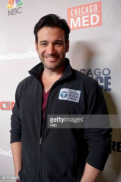 EVENTS 'One Chicago Day' Pictured Colin Donnell 'Chicago Med' at the 'One Chicago Day' event at Lagunitas Brewing Company in Chicago IL on October 24...